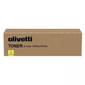 OLIVETTI originální toner B0819, yellow, 30000str., OLIVETTI D-COLOR MF 551