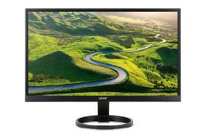 """ACER R241YB 24"""" IPS Full HD, 1ms, 75Hz, 250cd/m2, 16:9, HDMI, DVI, VGA, FreeSync, repro"""
