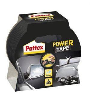 "Extra silná lepicí páska pro interiér i exteriér ""Pattex Power Tap"", černá, 50 mm x 10 m,"