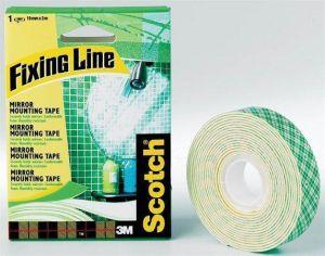 Lepicí páska oboustranná, 15mm x 1,5m, 3M/SCOTCH