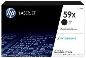 HP 59X Black LaserJet Toner Cartridge M404dn, M404dw, M404n, MFP M428fdn, MFP M428fdw