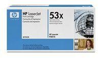 Tonerová cartridge HP, black, Q7553X -poškození obalu kategorie B (viz popis)