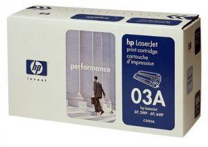 Tonerová cartridge HP, black, C3903A - poškození obalu kategorie B (viz. popis)