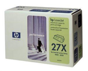 Tonerová cartridge HP, black, C4127X - poškození obalu kategorie B (viz. popis)