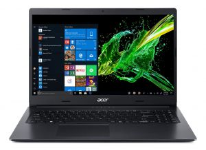 """Acer Aspire 3 - 15,6""""/i3-7020U/2*4G/256SSD/MX130/W10 černý"""