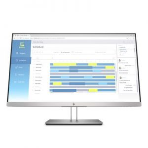 HP EliteDisplay E273d Docking monitor / 27 IPS 1920x1080 / 250cd / 1000:1 / 5ms / VGA, DP,
