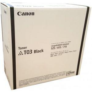 Canon originální toner T03, black, 51500str., 2725C001, Canon imageRUNNER ADVANCE 525/615