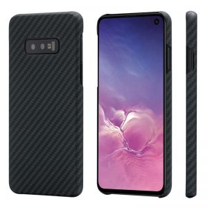 Pitaka Aramid case, black/grey - Galaxy S10e