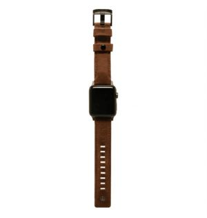 UAG Leather Strap, brown - Watch 44/42 mm
