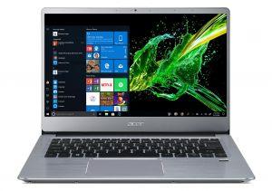 "ACER Swift 3 - 14""/R5-3500U/4+8G/512SSD/R540X/W10 stříbrný"
