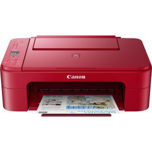 CANON PIXMA TS3352 EUR, červená (tisk, kopírka, sken, cloud), USB, Wi-Fi