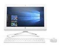 """HP AIO 20-c412nc AiO/ J4005/ 8GB DDR4/ 1TB (7200)/ Intel UHD 600/ 19,5"""" FHD VA/ W10H bílý"""