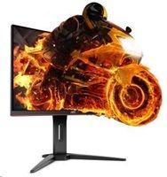 """AOC LCD herní CQ32G1 31,5"""" MVA Freesync zakřivený/2560x1440@144Hz/80m:1/1ms/300cd/2xHDMI/D"""