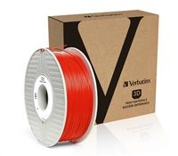 VERBATIM 3D Printer Filament PLA 1,75mm 1kg red (OLD PN 55270)