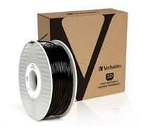 VERBATIM 3D Printer Filament ABS 2,85mm 1kg black (OLD PN 55018)
