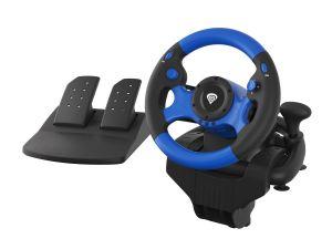 Genesis Seaborg 350 Herní volant, multiplatformní pro PC, PS4, PS3, Xbox One, Xbox 360, Sw