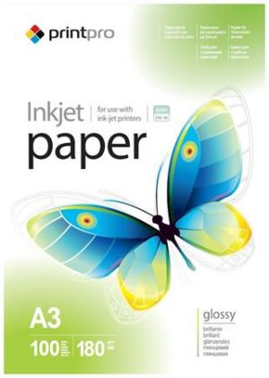 Colorway fotopapír Print Pro lesklý 180g/m2/ A3/ 100 listů