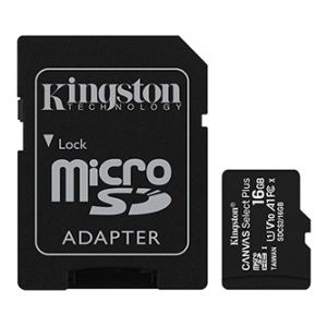 Kingston paměťová karta Canvas Select Plus, 16GB, micro SDHC, SDCS2/16GB, UHS-I U1 (Class