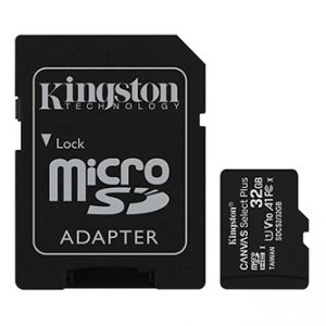 Kingston paměťová karta Canvas Select Plus, 32GB, micro SDHC, SDCS2/32GB, UHS-I U1 (Class