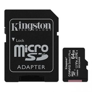 Kingston paměťová karta Canvas Select Plus, 64GB, micro SDXC, SDCS2/64GB, UHS-I U1 (Class