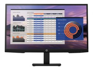 HP Monitor P27h G4, 1920x1080, IPS, 250 cd/m2, 1000:1, 5 ms, VGA, DP, HDMI, 2x2W, 3/3/0