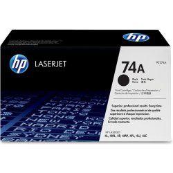 Originální toner HP 92274A, 74A , black - poškození obalu kategorie B (viz. popis)