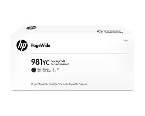 HP 981YC - černý Contract Toner, L0R20YC - poškozený obal C (viz. popis)