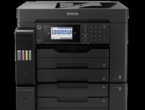 EPSON L15160 multifunkce A3+,32ppm, 1200x4800 dpi, USB, Wi-Fi, Ethernet, DADF