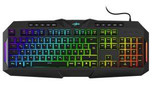 HAMA uRage gamingová semi-mechanická klávesnice Exodus 700/ drátová/ podsvícená/ USB/ CZ+S