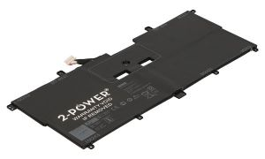 2-Power XPS 13 9365 Baterie do Laptopu ( NN1FC alternative) 7,6V 5940mAh