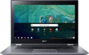 "ACER Chromebook Spin 15 - 15,6T""/N4200/4G/64GB/Chrome stříbrný"