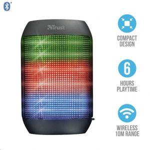 TRUST ZIVA Urban Reproduktor Wireless BT Speaker with party lights BT