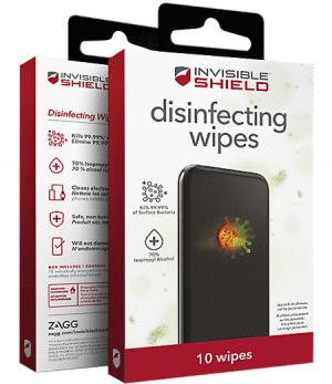 InvisibleShield dezinfekční ubrousky 10 ks