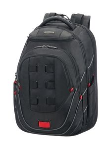 "SAMSONITE LEVIATHAN LAPT. BACKPACK 17.3"" BLACK/RED"