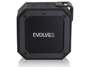 EVOLVEO Armor O1, 12W, IPX7, outdoorový Bluetooth reproduktor, černý
