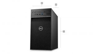 DELL Precision T3640/W-1270P/16GB/256GB SSD + 1TB/Quadro P2200/DVDRW/klávesnice+myš/Win 10