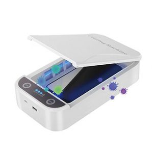 """POWERTON UV sterilizátor pro mobilní telefony a šperky, až 6,5"""" 10 W, bílá"""