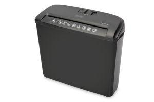 DIGITUS Skartovač papíru S5 bez otvoru pro CD / DVD / kreditní kartu 7mm, 5 listů, 7L, pro