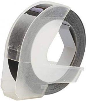 Kompatibilní páska s DYMO 3D S0898130 Do tiskárny OMEGA bílí tisk/černý podklad 3m/9mm