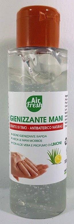 Dezinfekční gel na ruce AirFresh bezoplachový - 100ml 60%Alkohol