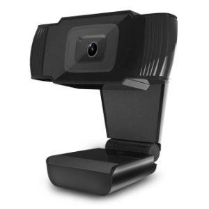 POWERTON HD Webkamera PWCAM1, 1280 x 720 P, USB, 2 MP senzor, úhel 90° , mikrofon , černá