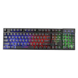 Marvo K605, Klávesnice CZ/SK, herní, membránová typ drátová (USB), černá, podsvícená