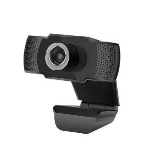 C-TECH webkamera CAM-07HD -1Mpx 720P, mikrofon, černá, 1280 x 720 , Plug and Play, držák