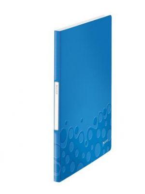 Katalogová kniha Leitz WOW, PP, 20 kapes, modrá