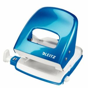 Stolní děrovačka Leitz NeXXt WOW 5008, met. modrá, box