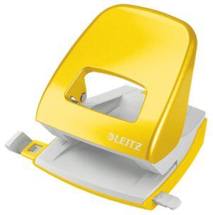 Stolní děrovačka Leitz NeXXt WOW 5008, žlutá