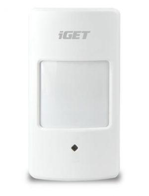 iGET SECURITY M3P1 - Bezdrátový PIR snímač pohybu k alarmu M3/M4, detekce pomocí infračerv