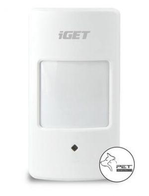 iGET SECURITY M3P17 - Bezdrátový PIR snímač pohybu k alarmu M3/M4 bez detekce zvířat do 12