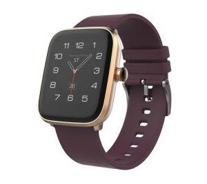 """iGET FIT F20 Gold - Chytré hodinky 1,4"""" IPS, 240x240 plně dotykový, BT 5.0, 160 mAh, 128kB"""