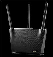 ASUS RT-AX68U Wireless AX27000 Wifi 6 Router, 4x gigabit RJ45, 1x USB3.0, 1x USB2.0